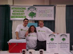 Terrapin begins! Classic City Brewfest in Athens, GA April 2002.