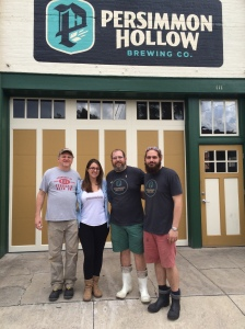 Terrapin/ Persimmon Hollow Collaboration Day!