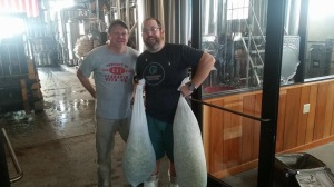 Just a very small portion of the amount of hops we added to this beer!